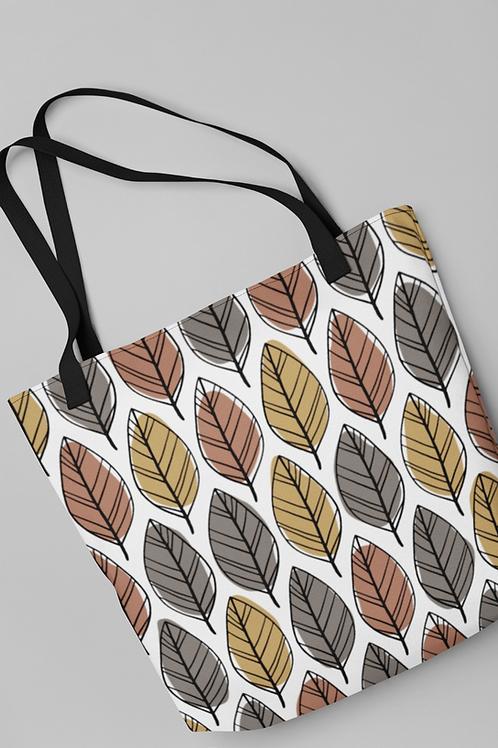 Bolsa Shop Bag - Folhas de Outono
