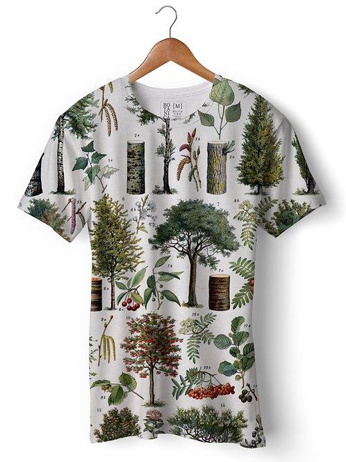 Camiseta Green-Fit - Árvores
