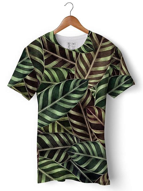 Camiseta Green-Fit - Maranta zebrina