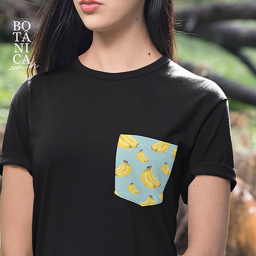 Camiseta Bolso - Bananas