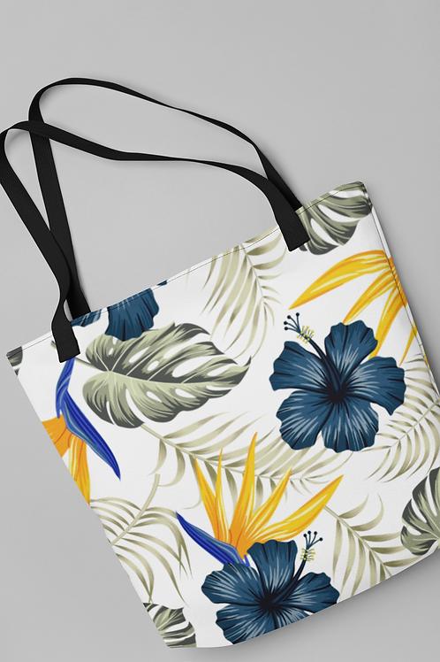 Bolsa Shop Bag - O Hibisco azul