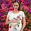 Thumbnail: Camiseta -  Guirlanda de Rosas