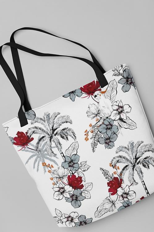 Bolsa Shop Bag - Vermelho no monocromo