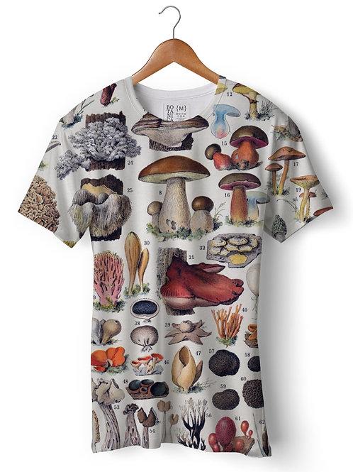 Camiseta Dry Fit - Cogumelos