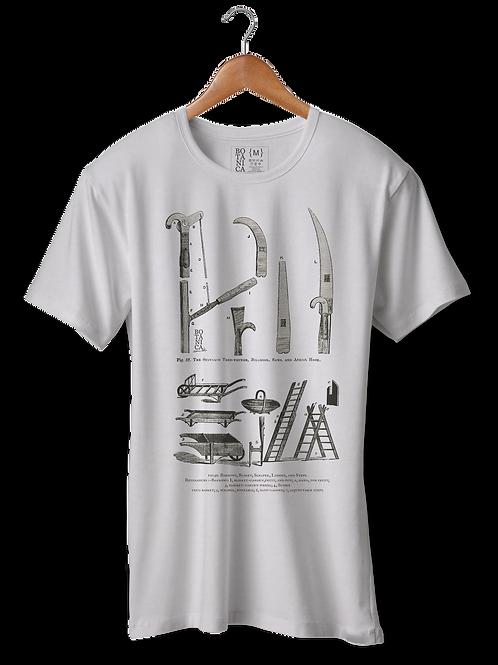 Camiseta Ferramentas de jardinagem 1