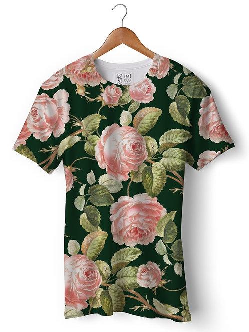 Camiseta Green-Fit - Rosas