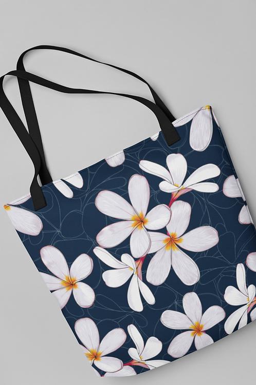 Bolsa Shop Bag - Plumeria Jasmim
