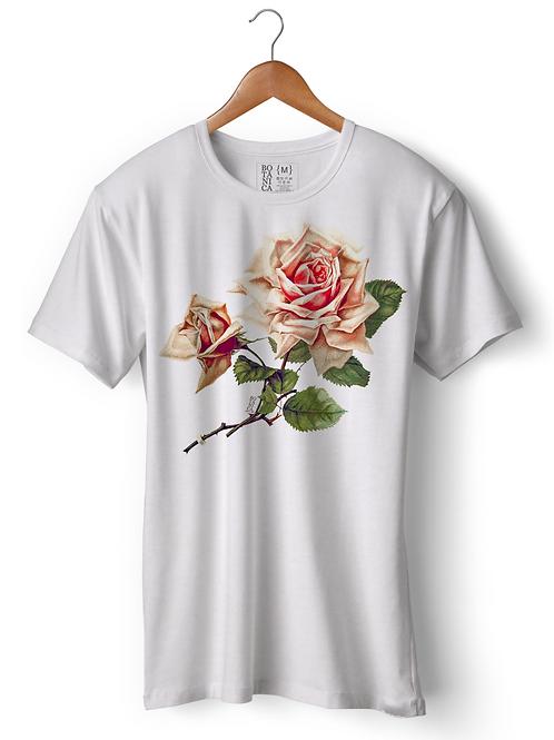 Camiseta - Rosa Clássica