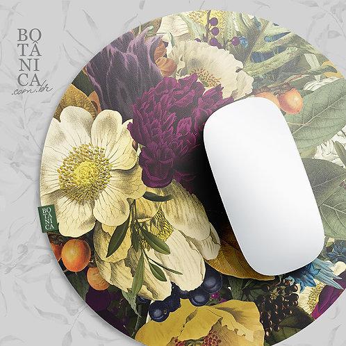 MousePad aveludado - FLORAL OUTONO