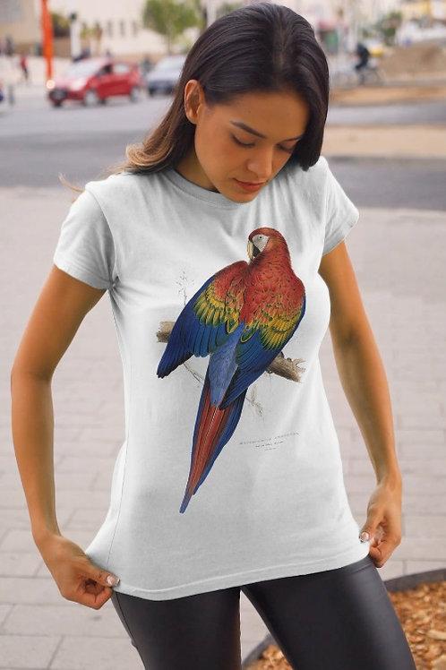 Camiseta - Arara vermelha - Ara chloropterus