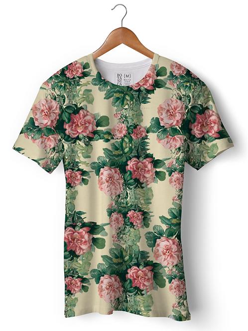 Camiseta Dry Fit - Rosa chá