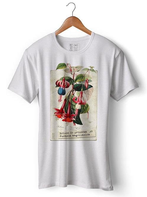 Camiseta - Brinco de princesa - Fuchsia