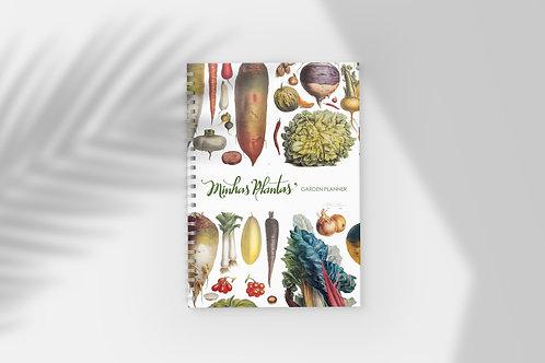 Caderno Garden Planner - Minhas Plantas
