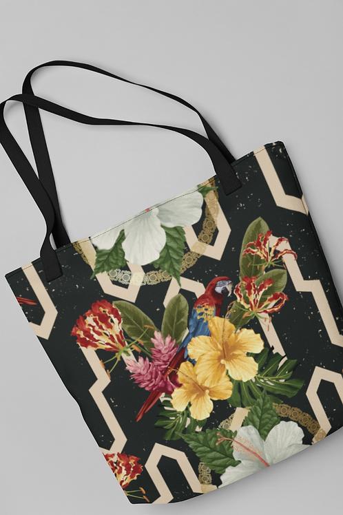 Bolsa Shop Bag - Tropicália modernista