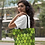 Thumbnail: Bolsa Shop Bag - Folhas variegatas