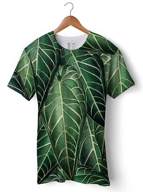 Camiseta Green-Fit - Antúrio Rainha - Anthurium warocqueanum