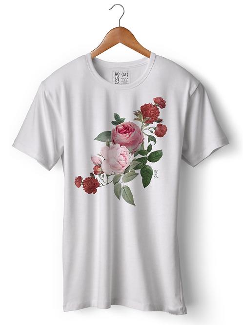 Camiseta -  Guirlanda de Rosas