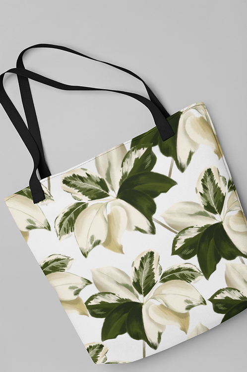 Bolsa Shop Bag - Cheflera Variegata