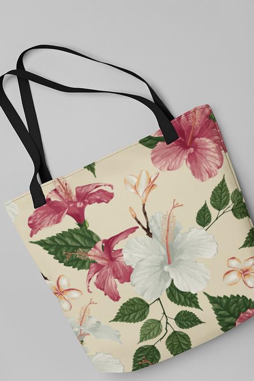 Bolsa Shop Bag - Hibiscos