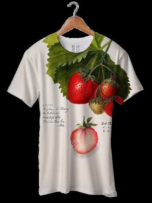 Camiseta Dry Fit - Morangos