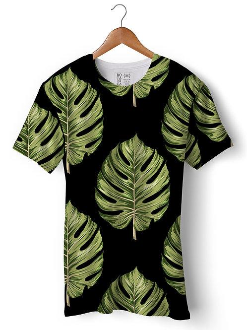 Camiseta Suplex - Folha de Monstera