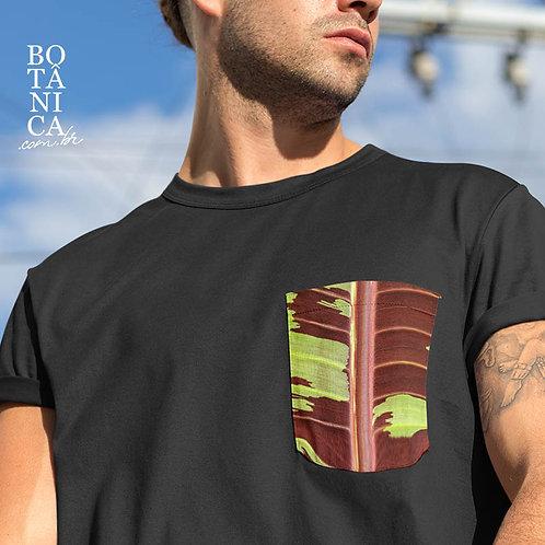 Camiseta Bolso - Bananeira