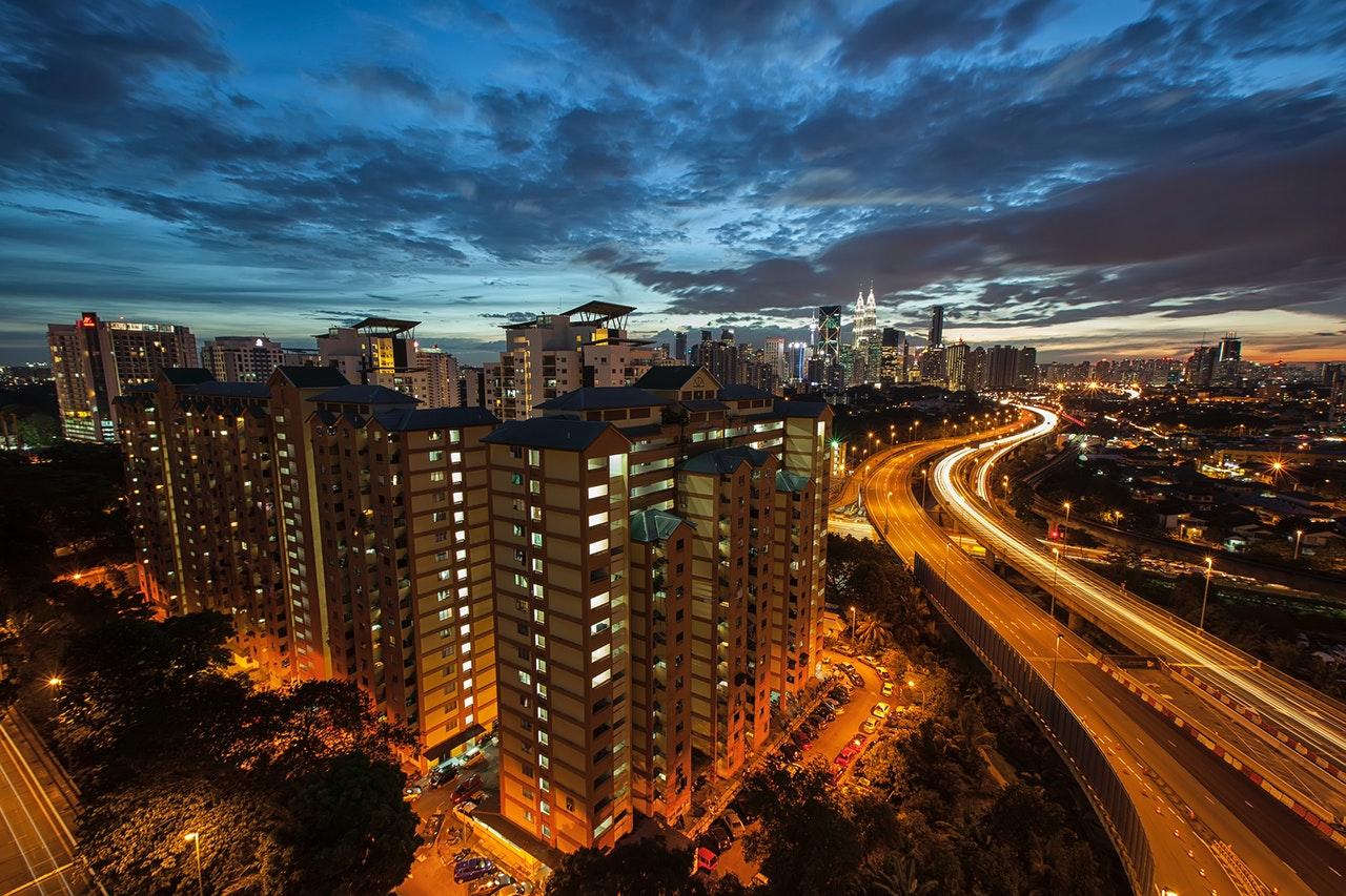 smart city skyline
