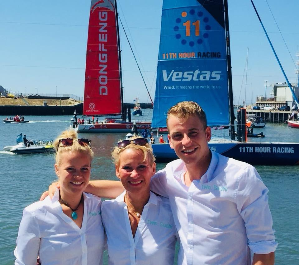 Twin Sushi @ Volvo Ocean Race 2018!