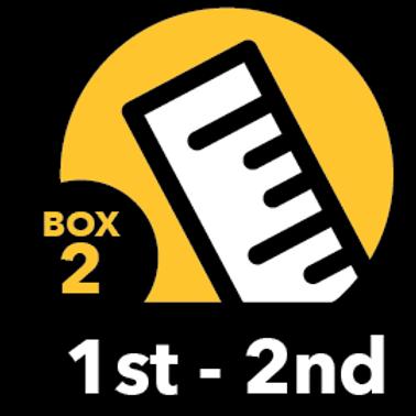 Summer Math Bundle 1st-2nd grade Box 2