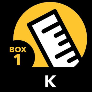 Summer Math Bundle Kindergarten Box 1