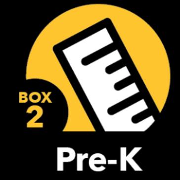 Summer Math Bundle Pre-K Box 2