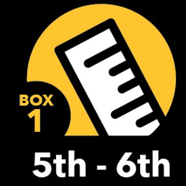 Summer Math Bundle 5th-6th grade Box 1