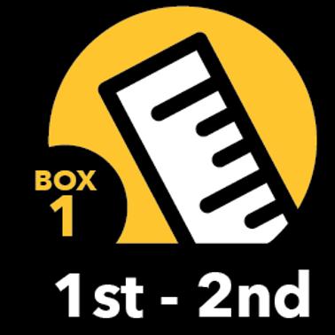 Summer Math Bundle 1st-2nd grade Box 1