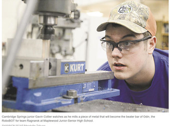 Technical center students playing vital role as RoboBOTS competition nears