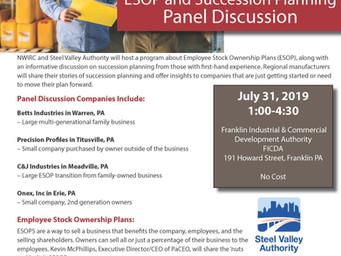 ESOP and Succession Planning Panel Discussion