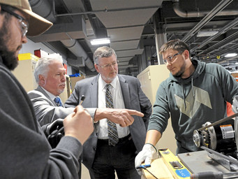 At new apprenticeship center, Pa. labor secretary promises more training dollars