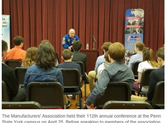Manufacturers group holds 'out of this world' event