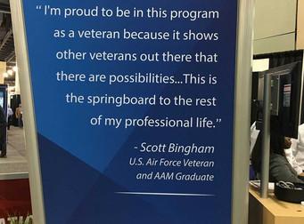 At the One-Year Mark, Veterans Training Program is Helping Plug Skills Gap