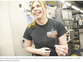 Cochranton teen a role model in tooling and machining trade