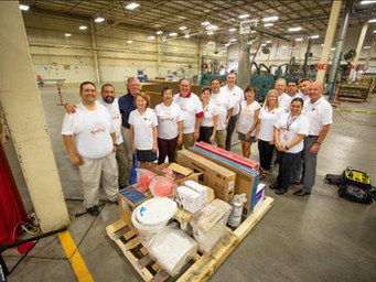 In Gratitude, Paper Manufacturer Tours Country Donating to Charities