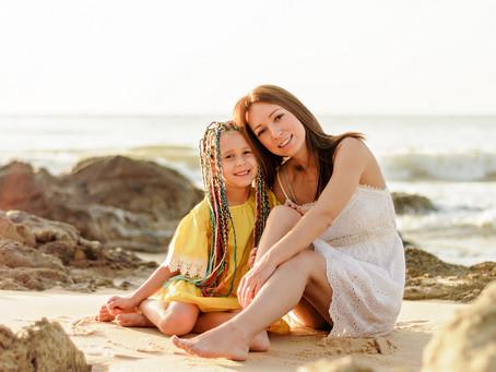 Как фотографироваться с ребенком?