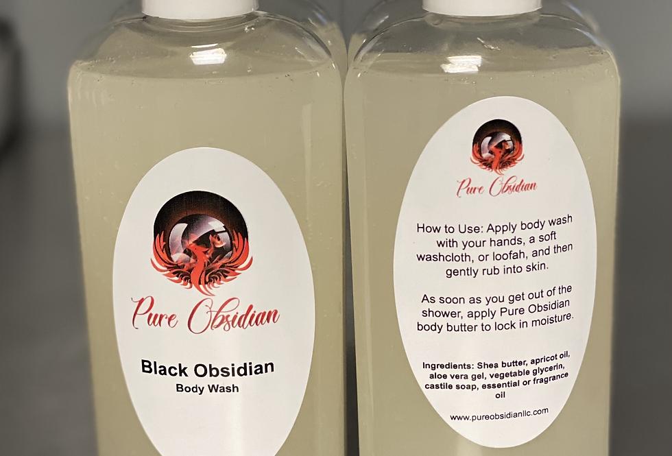 Black Obsidian Body Wash
