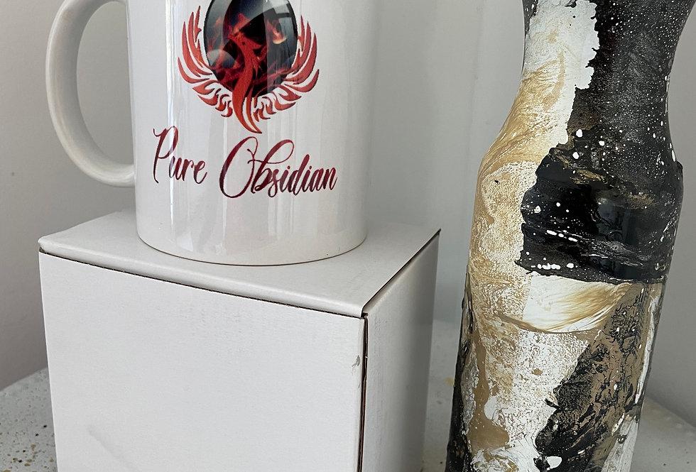 Pure Obsidian Mugs