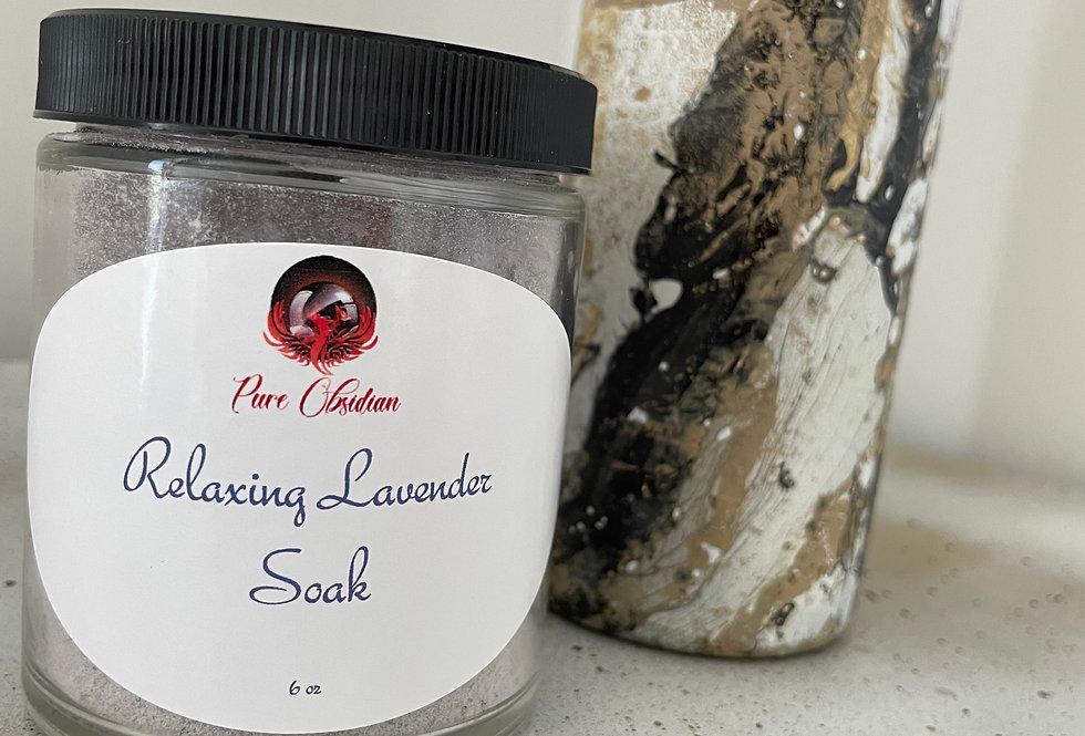 Relaxing Lavender Soak