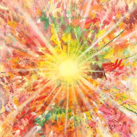 Semi Abstract: Autumn Sunshine