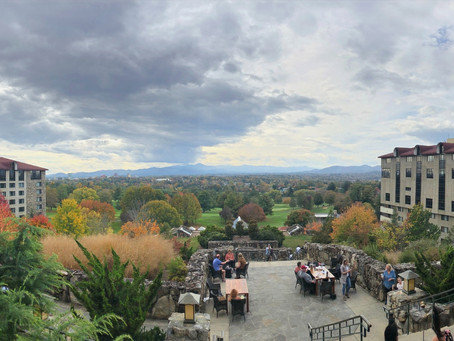 Asheville — Sunset Terrace, Omni Grove Park Inn