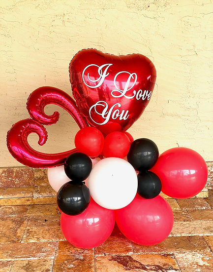 I Love you Balloons Gift