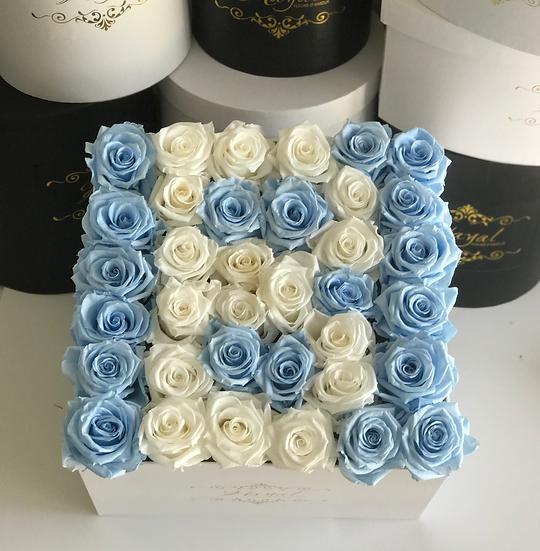 Eternity Roses It's a boy