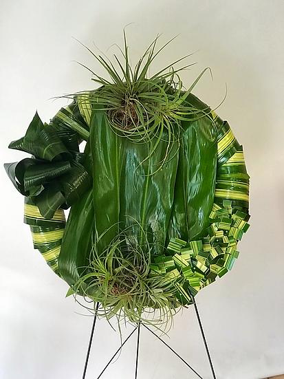 Organic Funeral Crown