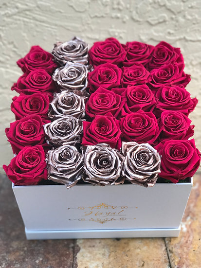 Eternity Roses Letters
